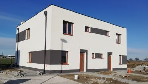 Rodinné domy v Hamuliakove